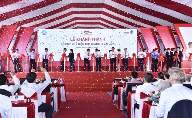 Masan khánh thành tổ hợp chế biến thịt MeatDeli Sài Gòn 1.800 tỉ đồng