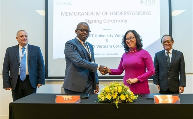 Winway Travel and RMIT Vietnam signs strategic cooperation in education