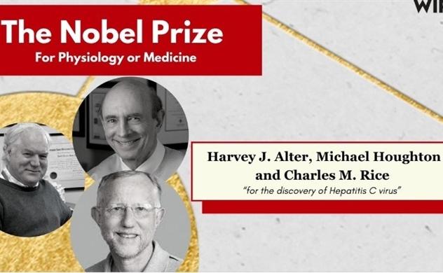Giải Nobel Y học 2020 được trao cho việc phát hiện virus viêm gan C