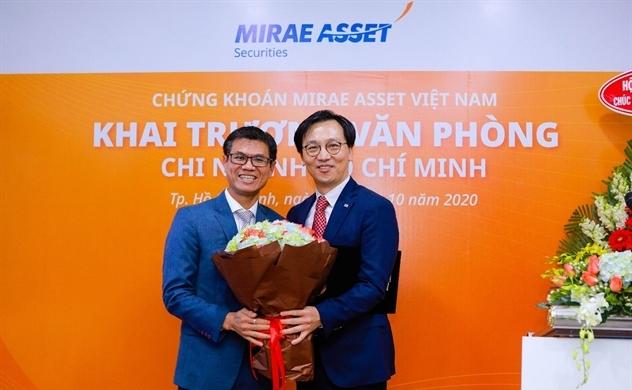Chứng khoán Mirae Asset có thêm văn phòng mới tại TP.HCM