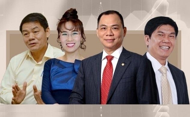 Việt Nam đang có 6 đại diện trong danh sách tỉ phú giàu nhất hành tinh