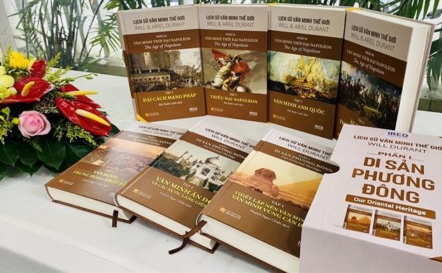 """""""Lịch sử văn minh thế giới"""": Công trình dịch thuật đồ sộ nhất Việt Nam từ trước đến nay"""