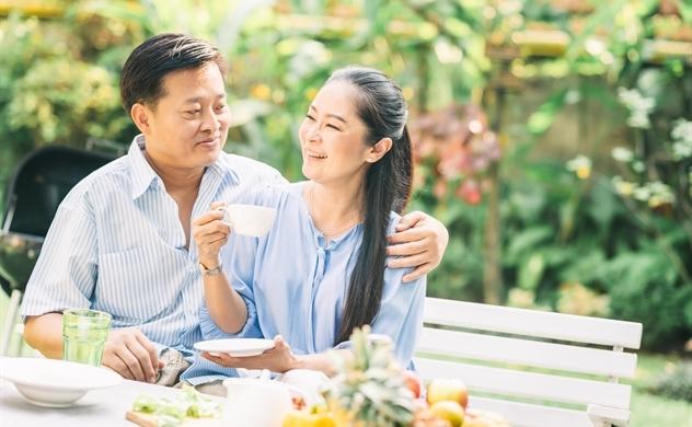 """Về """"vườn trong phố"""" và câu chuyện của cặp vợ chồng tuổi trung niên"""