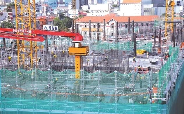 Thứ hạng ngành xây dựng biến động