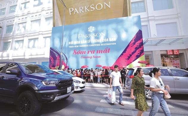 Parkson Retail lâm nguy