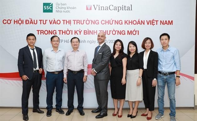 """VinaCapital tham gia tổ chức Hội thảo """"Cơ hội đầu tư vào thị trường chứng khoán Việt Nam trong thời kỳ bình thường mới"""""""