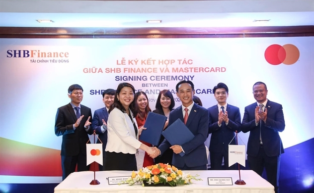 Công ty Tài chính SHB bắt tay cùng MasterCard cung cấp thẻ tín dụng quốc tế cho khách hàng
