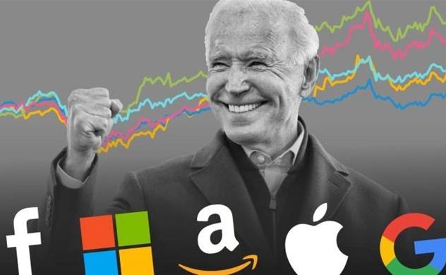 Các cổ phiếu công nghệ lớn của Mỹ nổi lên như những
