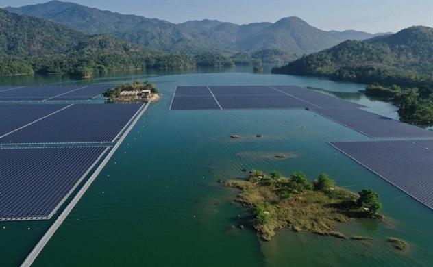 Lợi thế hơn về môi trường, điện mặt trời nổi