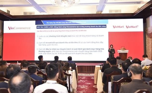"""Nhiều chính sách mới tại Hội nghị Đối tác đầu tiên của VinCommerce """"dưới thời"""" Masan."""