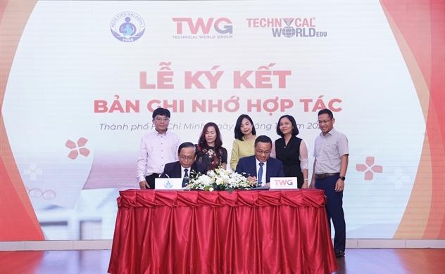 Ký kết biên bản ghi nhớ hợp tác giữa Bệnh viện Nhi đồng I và Tập đoàn TWGROUP