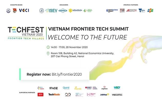 Diễn Đàn Cấp Cao Công nghệ tiên phong Việt Nam 2020