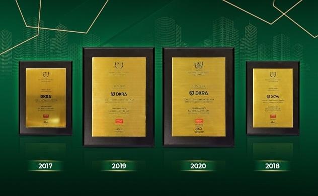 DKRA Vietnam lập kỷ lục 4 năm liên tiếp là Nhà phân phối bất động sản tiêu biểu