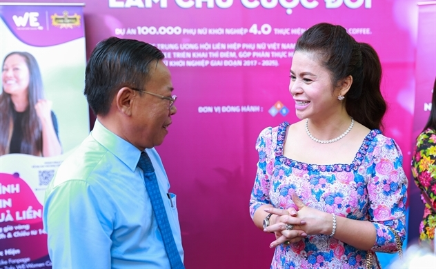 Tni King Coffee cùng Hiệp hội phụ nữ TP.HCM giúp chị em khởi nghiệp chỉ từ 5 triệu đồng.