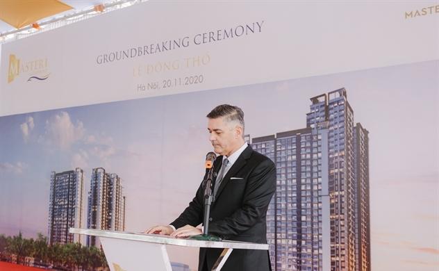 Masterise Homes chính thức khởi công dự án Masteri Waterfront tại Hà Nội