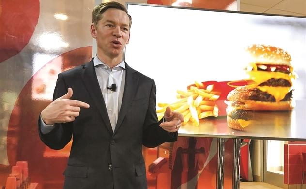 McDonald's hái quả ngọt