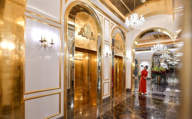 This Hanoi Hotel Is Coated in 24-karat Gold — Yes, Even the Toilets