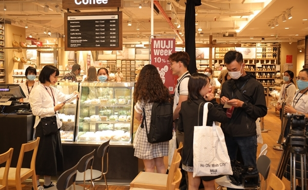 Japan's MUJI opens Vietnam flagship store in Ho Chi Minh City