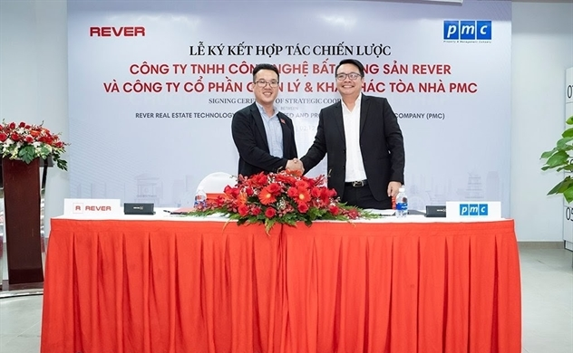 REVER ký kết hợp tác chiến lược với PMC, cùng tạo ra những lợi ích vượt trội cho mọi cư dân