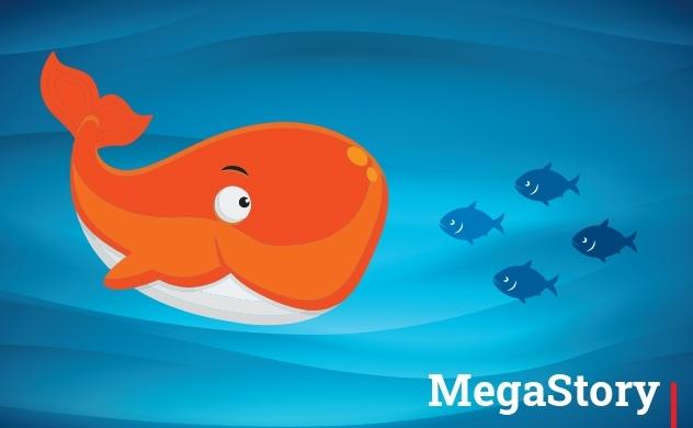 Cá lớn nuôi cá bé