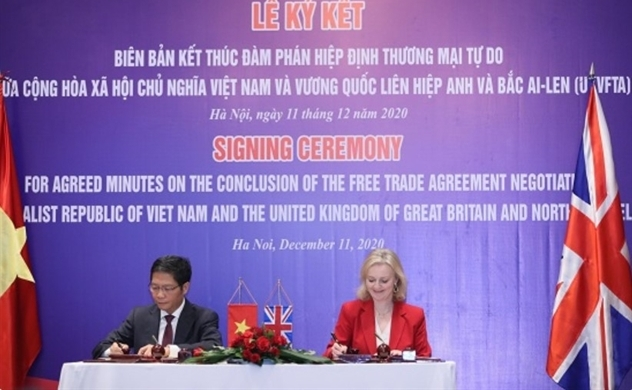 UK and Vietnam get closer to a post-Brexit free trade deal