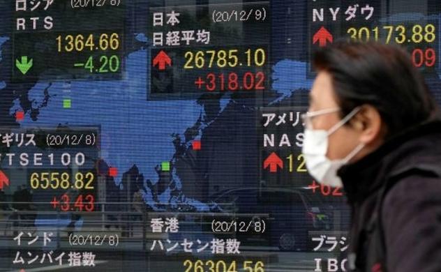 Chứng khoán toàn cầu tăng sau hy vọng về biện pháp kích thích tài khóa của Mỹ