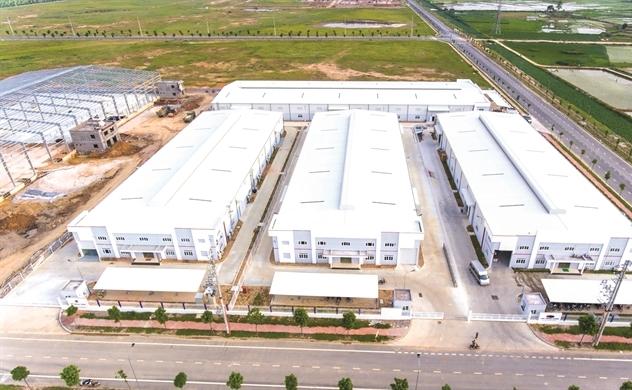 Bất động sản công nghiệp: Điểm tích lũy 2021