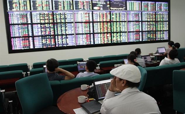 Ngập tràn sắc xanh, thị trường chứng khoán Việt Nam đón