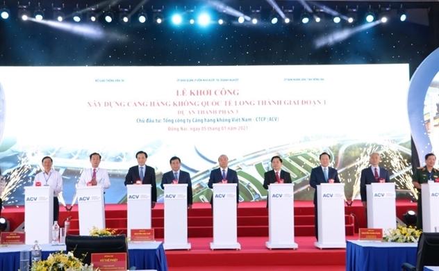 Khởi công sân bay Long Thành - Thời điểm vàng đầu tư Aqua City