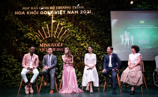 """Cuộc thi và chương trình truyền hình thực tế  """"Hoa khôi Golf Việt Nam 2021"""" chính thức khởi động"""
