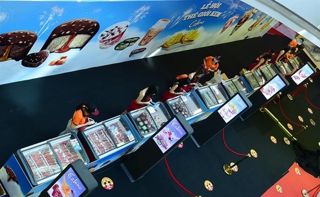 Mảng bán kem của Kido Foods lãi 13 tỉ mỗi tháng