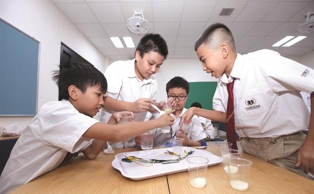 Hạ tầng nâng cánh giáo dục