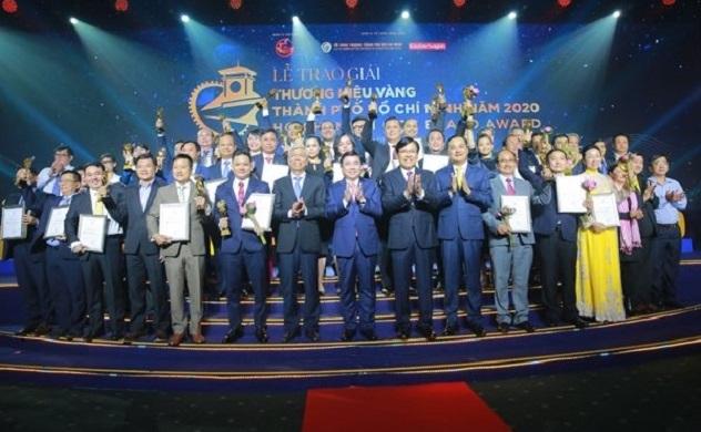 TP. HCM vinh danh 30 doanh nghiệp đoạt giải Thương hiệu Vàng