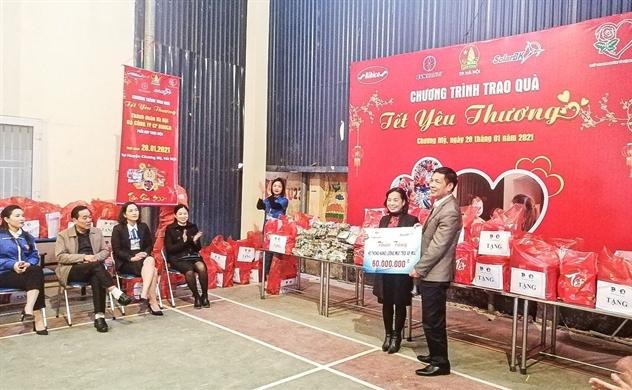 SolarBK đón Tết cùng các trẻ em khuyết tật ở Hà Nội