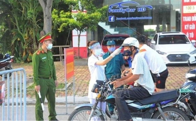 Vietnam reports 37 more local COVID-19 infections, tally raises to 1,948