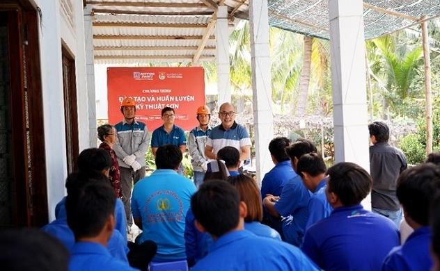 Nippon Paint chung tay cùng Việt Nam tươi đẹp qua chuỗi hoạt động cộng đồng