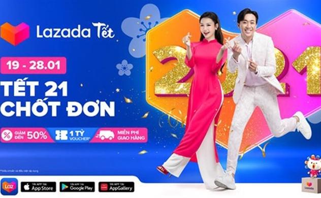 Lazada Việt Nam ghi nhận số lượng đơn hàng và nhà bán hàng tăng gấp đôi trong lễ hội mua sắm trước thềm Tết Nguyên Đán