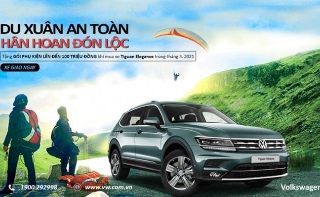 Du xuân an toàn, hân hoan đón lộc từ Volkswagen