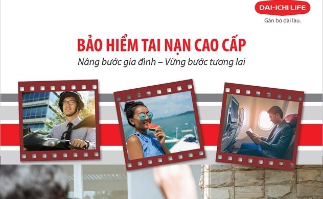 """Dai-ichi Life Việt Nam ra mắt sản phẩm """"Bảo hiểm Tai nạn Cao cấp"""""""