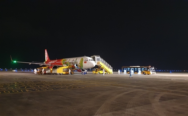 """Sân bay Vân Đồn khởi động trở lại hoạt động đón chuyến bay """"giải cứu"""""""
