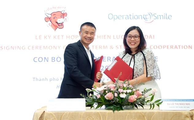 Con Bò Cười hợp tác Operation Smile hỗ trợ gói 1 tỉ đồng cho chương trình phẫu thuật 2021
