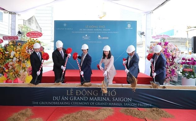 Động thổ Grand Marina, Saigon - dự án mang thương hiệu Marriott bảo chứng toàn cầu