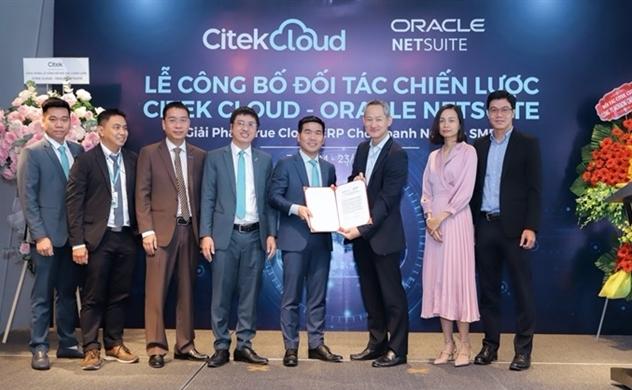 Citek Cloud - Oracle NetSuite ký kết và giới thiệu giải pháp True Cloud ERP cho Doanh nghiệp SME