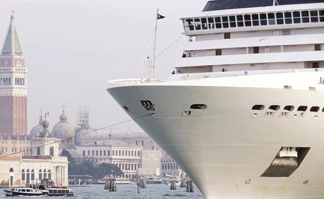 """""""Sự kết thúc"""" của những con tàu du lịch ở Venice"""