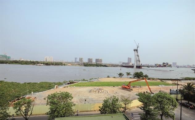 Cận cảnh quy hoạch tổng thể khu vực bờ sông quận 1 - Grand Marina Saigon