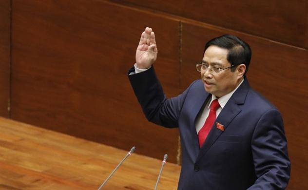 Ông Phạm Minh Chính được Quốc hội bầu giữ chức Thủ tướng Chính phủ