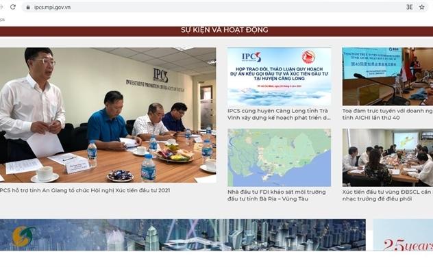 Trung tâm Xúc tiến đầu tư phía Nam, Cục Đầu tư nước ngoài ra mắt trang thông tin điện tử về xúc tiến đầu tư