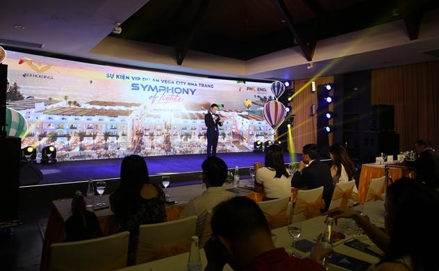 Khúc hoà ca ánh sáng tại sự kiện VIP dự án Vega City Nha Trang