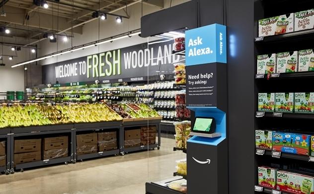 Tính năng thanh toán tự động của Amazon sắp có mặt tại các siêu thị cỡ lớn