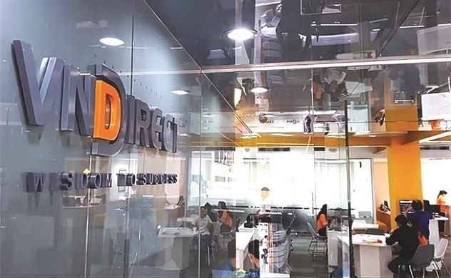 VNDirect thu hơn 446 tỉ đồng từ tự doanh